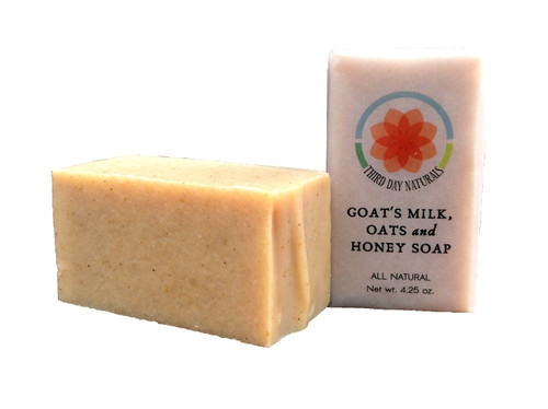 Goat's Milk, Oats and Honey Soap
