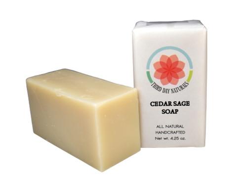Cedar Sage Soap