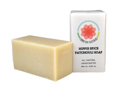 Hippie Spice Patchouli soap