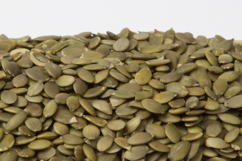 Raw Organic Pepita / No Shell Pumpkin Seeds  9955-base from  NutsinBulk | Buy Direct and Taste the difference.