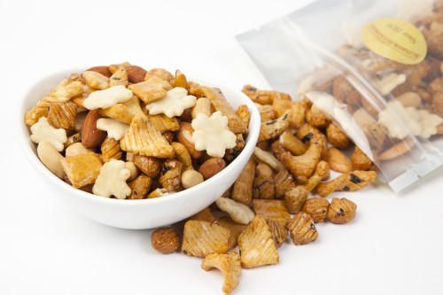 Natural Rice Crackers with Nuts