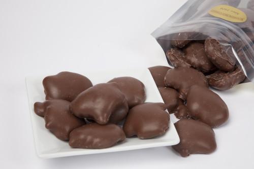 Milk Chocolate Cashew Caramel Turtles
