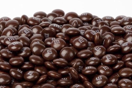 Brown  Milk Chocolate M&M's Candy