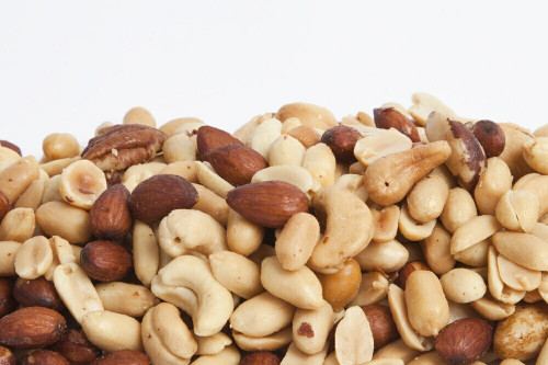 Roasted Mixed Nuts - 60% Peanuts (Unsalted)
