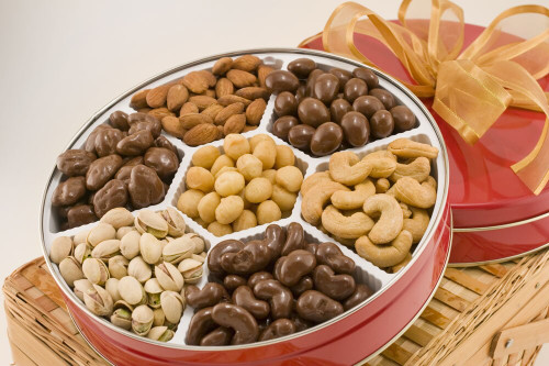 Executive Assortment of Nuts Tin (Sugar Free)