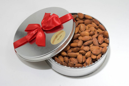 Jumbo California Almonds Gift Tin (Salted)
