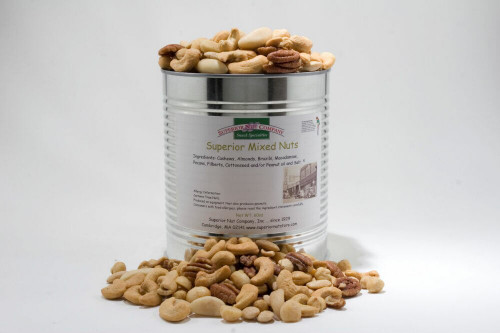Superior Mixed Nuts - 3.75 lbs Can (Salted)