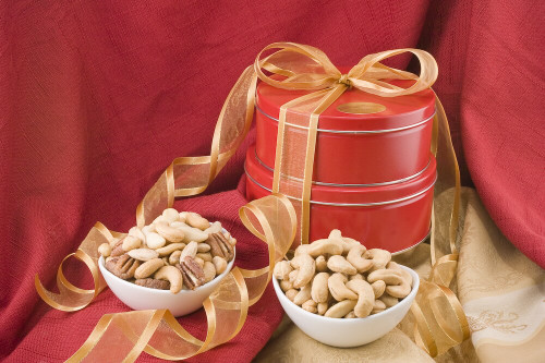 Cashews/Mixed Nut Gift Tower (Salted)