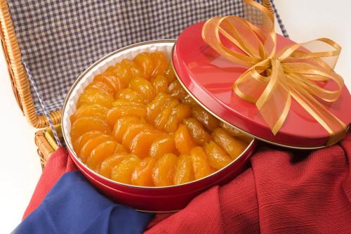 44oz Superior Glazed Apricots Gift Tin