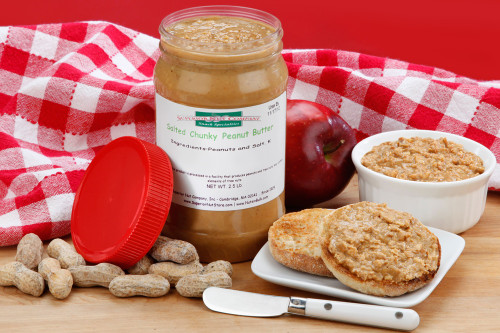 Chunky Peanut Butter 2.5 LBS (Salted)