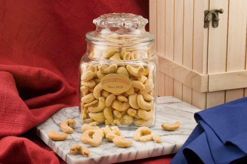 Giant cashews - 20oz Decanter (Salted)