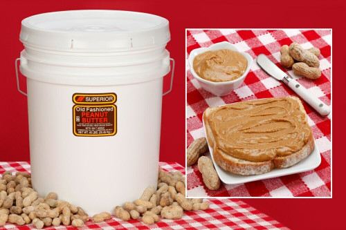 Smooth Peanut Butter 45 LBS (Unsalted)