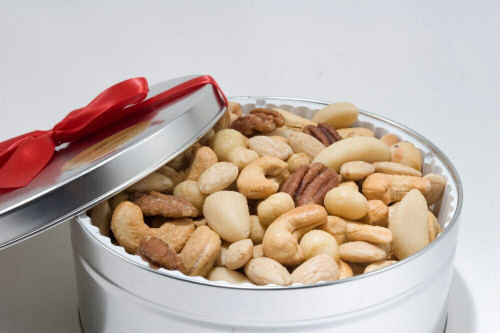 Superior Mixed Nut Gift Tin (Unsalted)