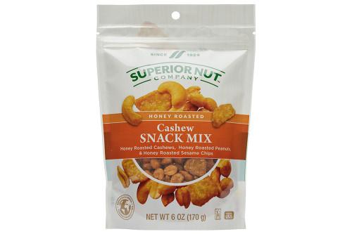 Superior Nut Honey Roasted Cashew Snack Mix