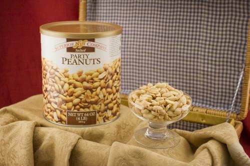 Superior Nut Company Party Peanuts XL cans