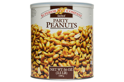 Superior Nut Company Party Peanuts XL cans