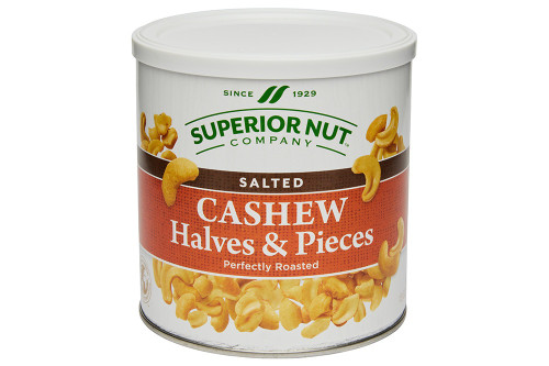 Roasted & Salted Cashew Halves & Pieces