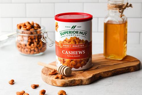 Superior Nut Honey Roasted Whole Cashews