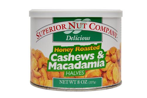 Honey Roasted Cashew & Macadamias