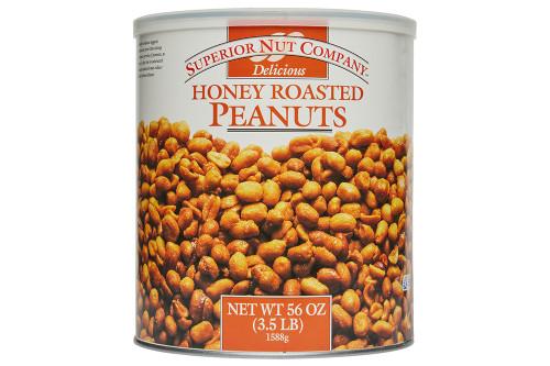 Superior Nut Company Honey Roasted Peanuts XL Cans