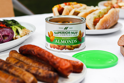 Superior Nut All Natural Raw Almonds Outdoors