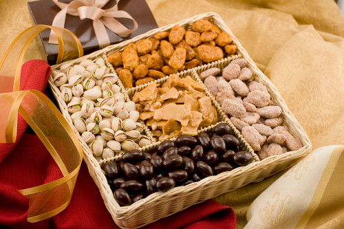 Gourmet Gift Basket  9570 from  NutsinBulk | Buy Direct and Taste the difference.