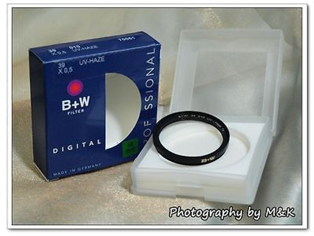 *NEW* B+W 39 010 UV-Haze 1x F-Pro Filter for Leica M 50/2 35/2 7 Element lens