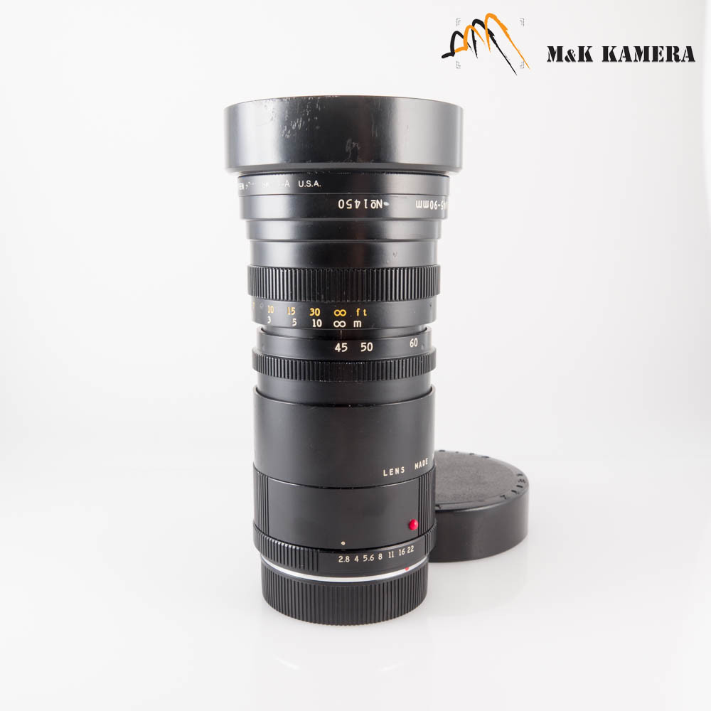 Angenieux Zoom Leica R Mount 45-90mm/F2.8 Lens France #590
