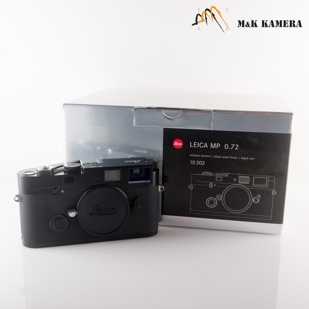 Leica MP 0.72 Black Paint Film Rangefinder Camera #302