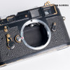 Leica M3 Black Paint DS Film Camera Rare #850