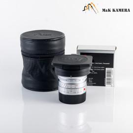 Leica Elmarit-M 21mm/F2.8 ASPH Silver Lens Yr.1999 Germany #581