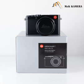 Leica D-Lux 7 Black Digital Camera 19140 #140