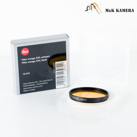 Leica E49 Orange Black 13072 Filter #072