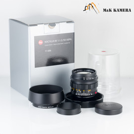 Leica Noctilux-M 50mm/F1.2 ASPH Black Lens Germany 11686 #686