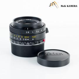 Leica Elmarit-M 28mm/F2.8 E39 ASPH/ 11606 Lens Yr.2007 Germany 11606 #458