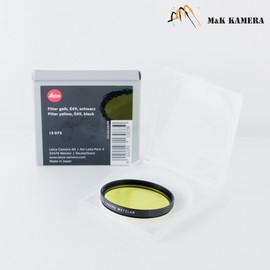 Leica Leitz E49 Yellow Black 13073 Filter #073