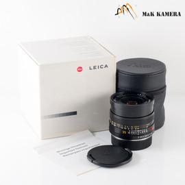 Leica Summicron-R 35mm F/2.0 E55 Ver.II V2 ROM Black Lens Yr.1988 Germany 11339 #473