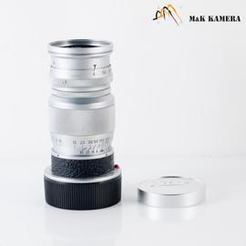 LEITZ Leica Elmar M 90mm F/4.0 Silver Lens Yr.1956 Germany #502