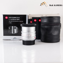 Leica Summilux-M 35mm/F1.4 ASPH / FLE Silver Lens Germany #675