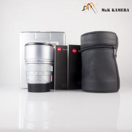 Leica APO-Summicron-M 90mm/F2.0 ASPH Silver Lens Yr.2002 Germany #335