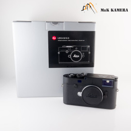 Leica M10-D Black Digital Rangefinder Camera #014