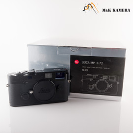 Leica MP 0.72 Black Paint Film Rangefinder Camera #302