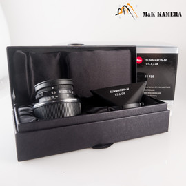 Leica Summaron-M 28mm/F5.6 Matte Black Paint Lens Germany #928