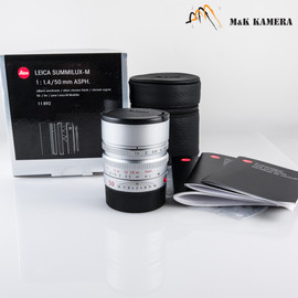 Leica Summilux-M 50mm/F1.4 E46 ASPH Silver Lens Germany #892