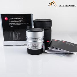 Leica Summilux-M 50mm/F1.4 E46 ASPH Silver Lens Germany #892