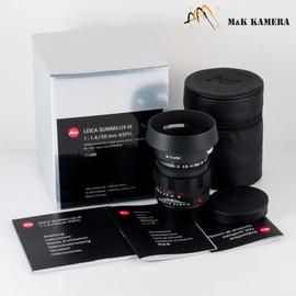 New Leica Summilux-M 50/1.4 50mm f/1.4 Asph. 6Bit E43 11688 Black Chrome limited