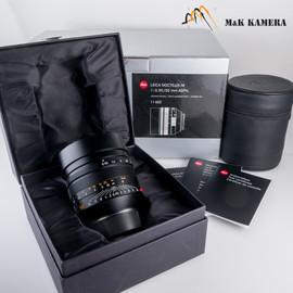 Leica Noctilux-M 50mm F/0.95 ASPH 11602 Black Lens Germany #602