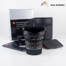 Leica Super-Elmar-M 18mm/F3.8 ASPH Lens Germany #649