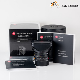 Leica Summicron-M 28/2.0 28mm f/2.0 Asph. 6Bit E46 Brand New Germany for M240 SL