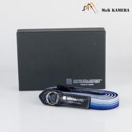 Artisan & Artist Navy & Silver -312N Strap for Leica M Camera #NNS